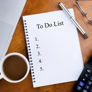 The to-do list for a new business can grown in a hurry. It's time to check off