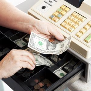Traditional cash registers are starting to be seen as outdated.