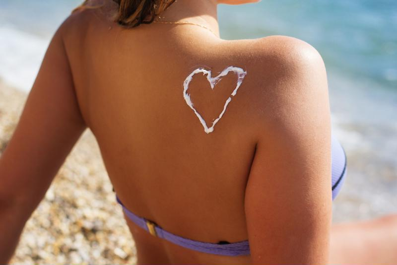 To prevent the negative effects of sun damage, it's important to wear sunscreen all year long.