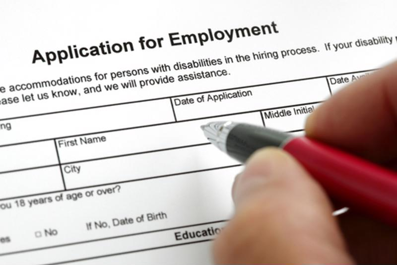 Most job applications are now done through the internet.
