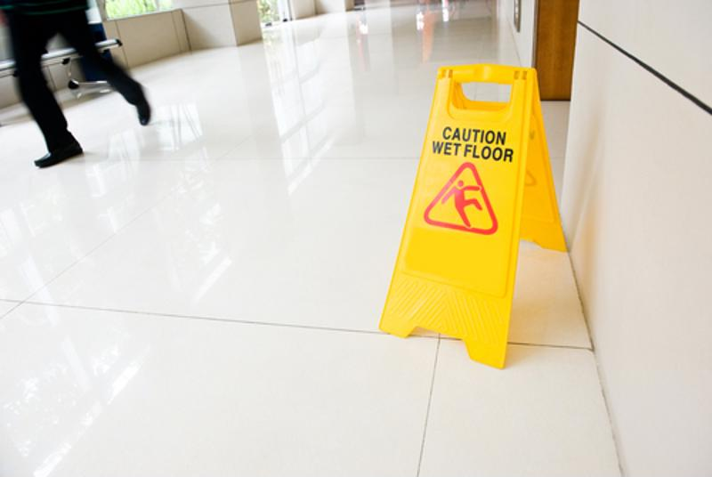 Slips, trips, and falls represent a large portion of workplace injuries each year.