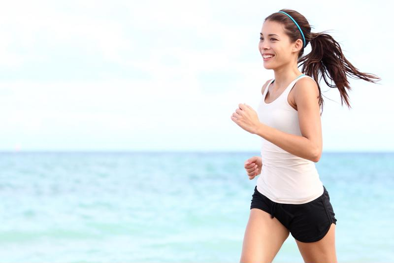 Go for a walk or jog on the beach every morning of your vacation.