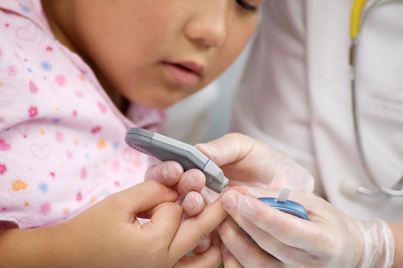 Glucose finger test