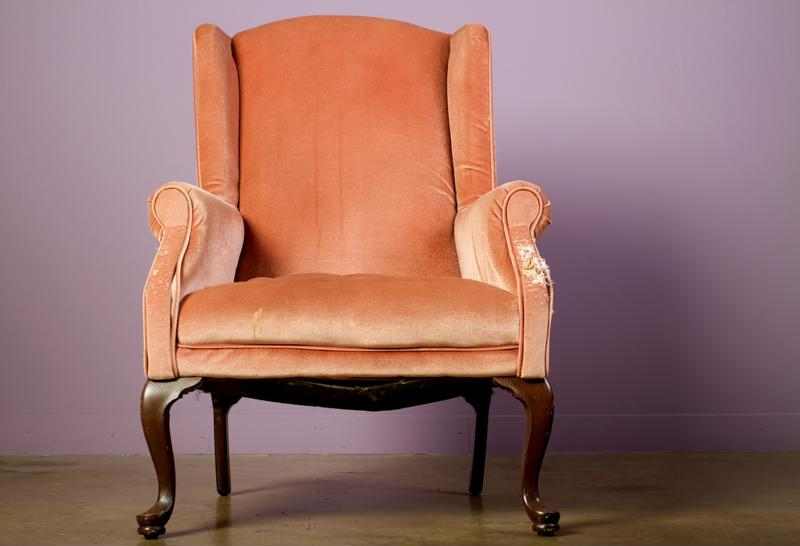 New upholstery could make an old chair or couch vibrant and new again.
