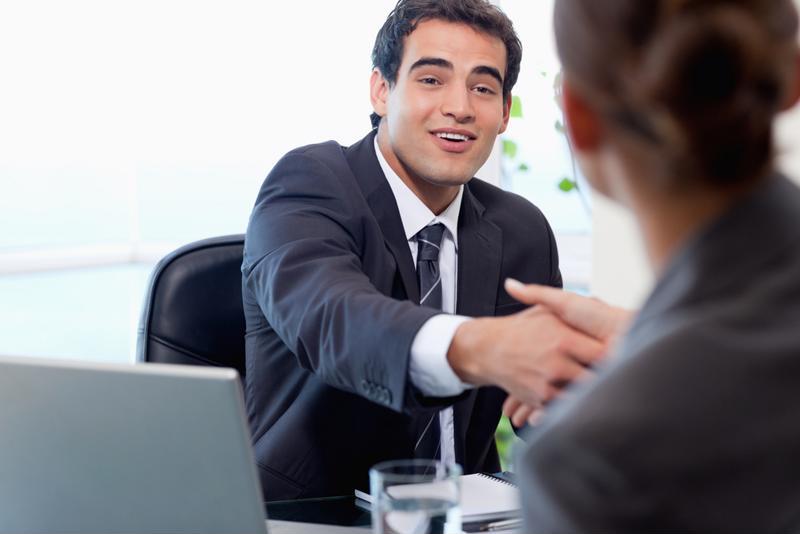 Gen Z applicant meets for an interview