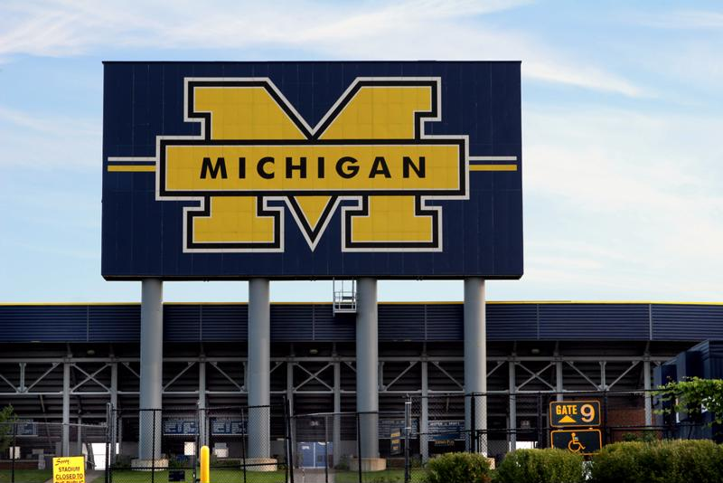 Both the football team and marching band are talented at the University of Michigan.
