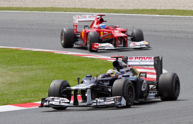 F1 brake systems must be light and able to take the heat.
