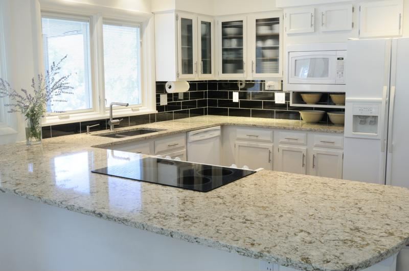 Granite And Natural Stone Countertops In General Set The Kitchen Apart With  A Unique Look.