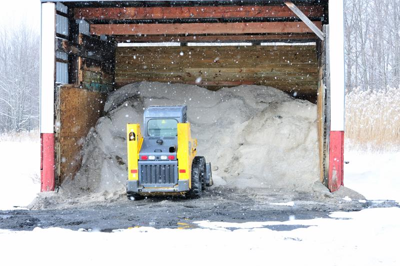 Road salt prevents roads from freezing over, but also comes with many drawbacks.