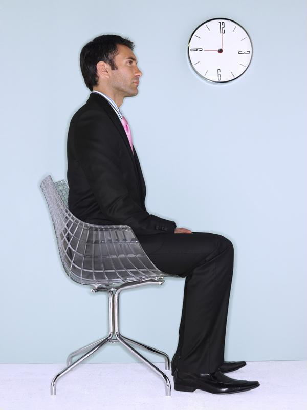 Practice good posture while sitting and standing.