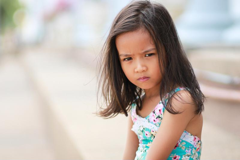 Young kids are known to throw tantrums.