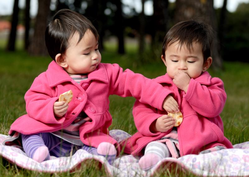 In separate classes, twins will have their own stories to share.
