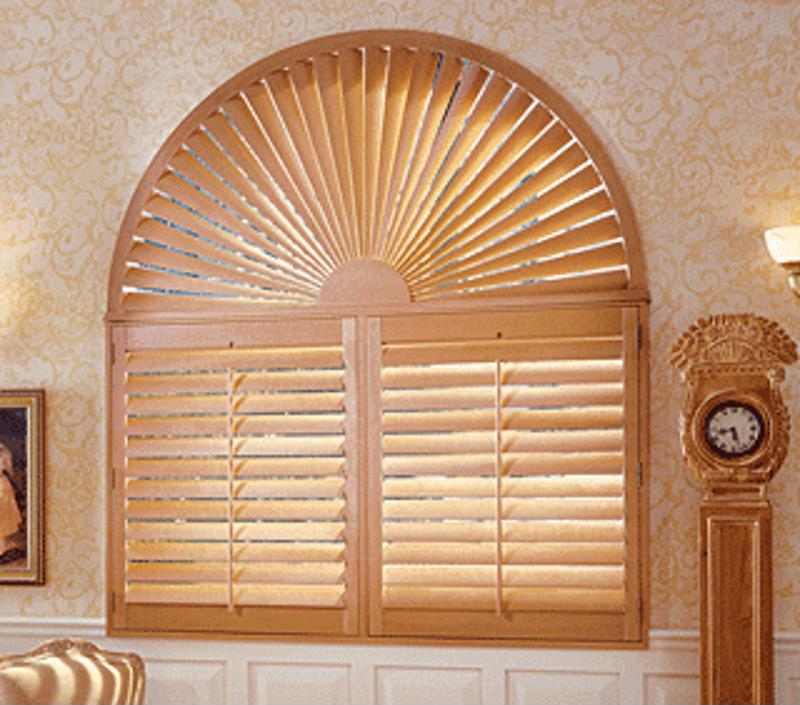 Hunter Douglas Heritance Shutters will be custom fit for any window frame.
