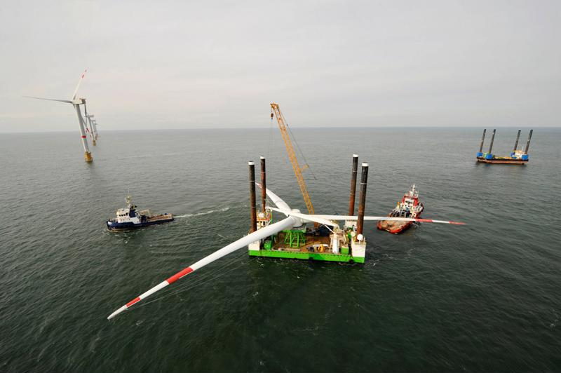 Offshore wind generation projects are already underway throughout the EU and Asia.