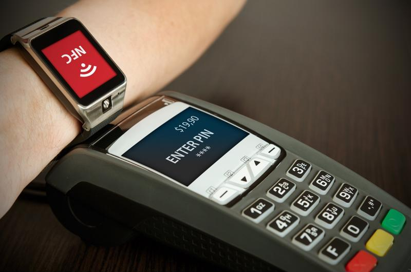 Consumers have already started tapping their wrists to make payments with smart watches.