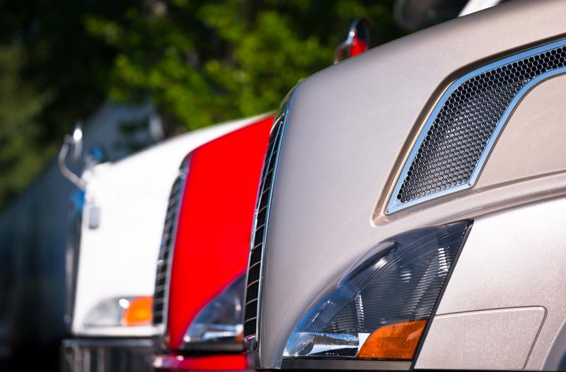 Since January, prices for used commercial trucks have fallen significantly.