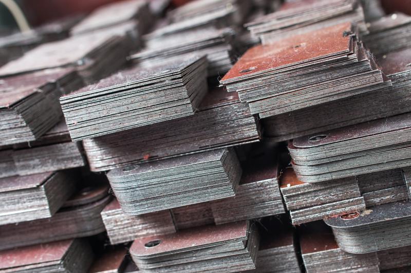 Stack of print materials