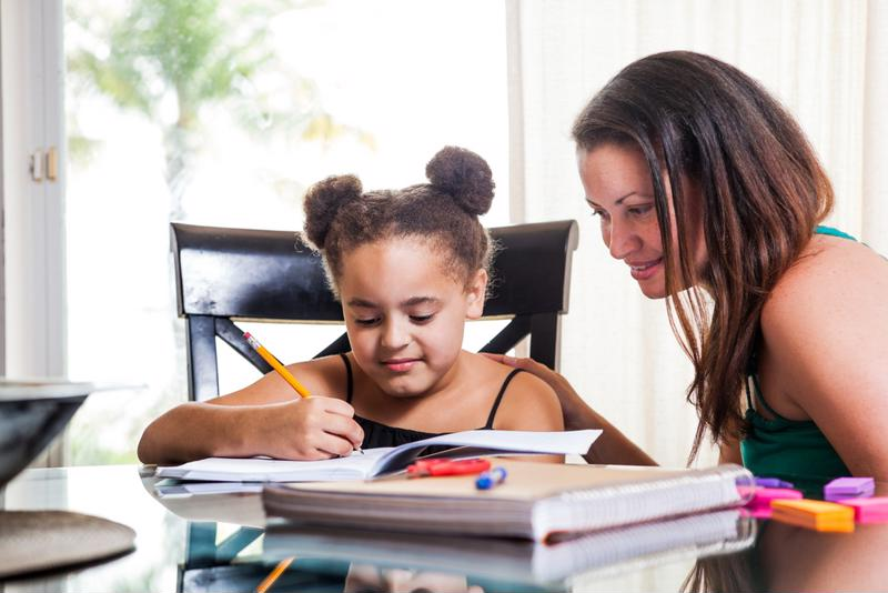 Picking up children from school and helping with homework is just one thing a family assistant can do.